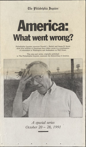 Cover of Philadelphia Inquirer, 1991 series
